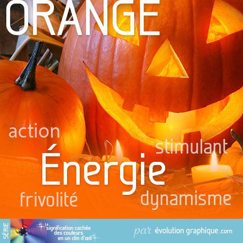 La signification cachée du orange