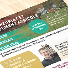 Invitation Fédération de l'UPA de la Capitale-Nationale–Côte-Nord